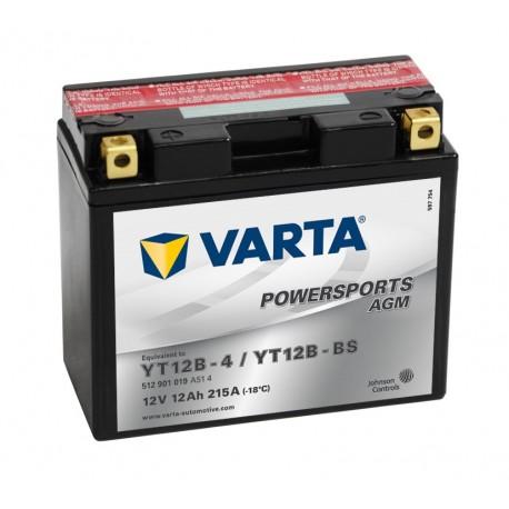 Batería varta yt12b-4 yt12b-bs 12v 12ah