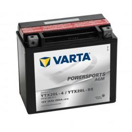 Batería varta ytx20l-4 ytx20l-bs 12v 18ah