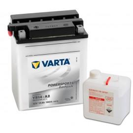 Batería varta yb14-a2 12v 14ah