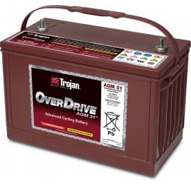Batterie trojan overdrive tm 12v 102ah